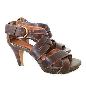 Indigo by Clarks leather platform sandals